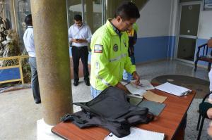 Realizan inspección a empresas de seguridad
