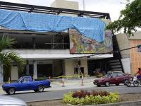 Mural es un 'sobreviviente' del terremoto