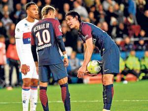 Enojado con Neymar
