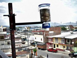 Cuatro estaciones para medir la contaminación