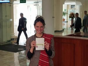 Manuela Picq recibe visa Mercosur con una validez de 2 años
