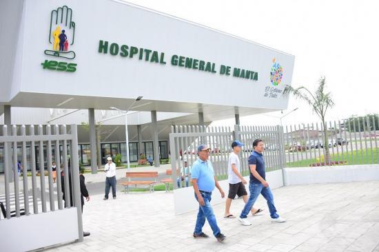 MANTA: El nuevo hospital del IESS abrió sus puertas