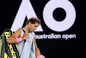 Rafael Nadal se retira del Abierto de Australia por una lesión
