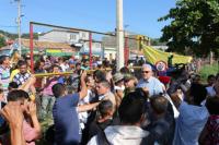 Atacaron con bombas un campamento de migrantes venezolanos en Colombia