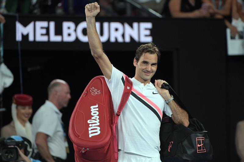Roger Federer disputará la 30ª final de Grand Slam de su carrera