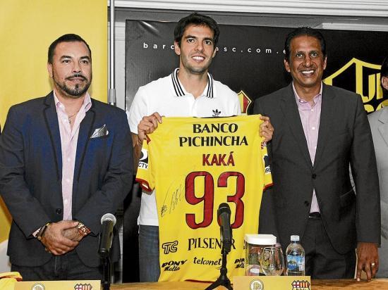 Kaká, el invitado especial en la 'Noche Amarilla'