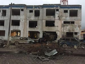 Heridos leves tras explosión de artefacto cerca de edificio policial en Esmeraldas