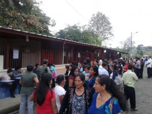 Proceso electoral se cumple en los diferentes cantones de Manabí