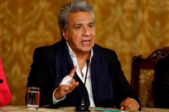 Moreno dice al secretario general de la OEA que hará respetar el mandato popular