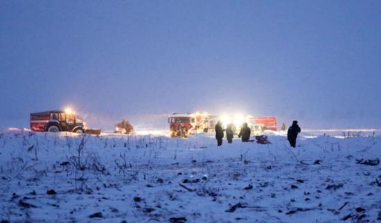 Rusia: Avión se estrella cerca de Moscú y mueren sus 71 ocupantes