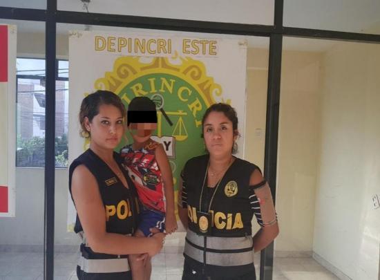 Encuentran en Perú a un niño ecuatoriano de 4 años que estaba desaparecido