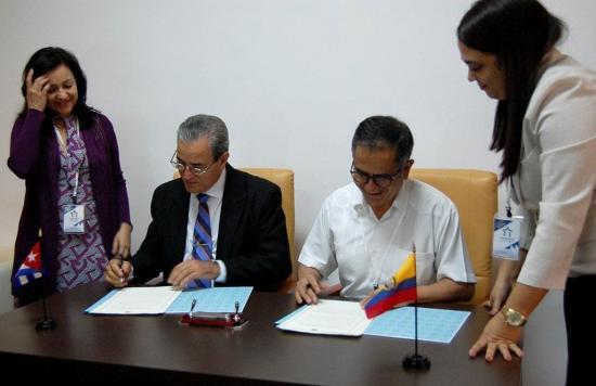 Cuba y Ecuador concretan un acuerdo de cooperación en Educación Superior