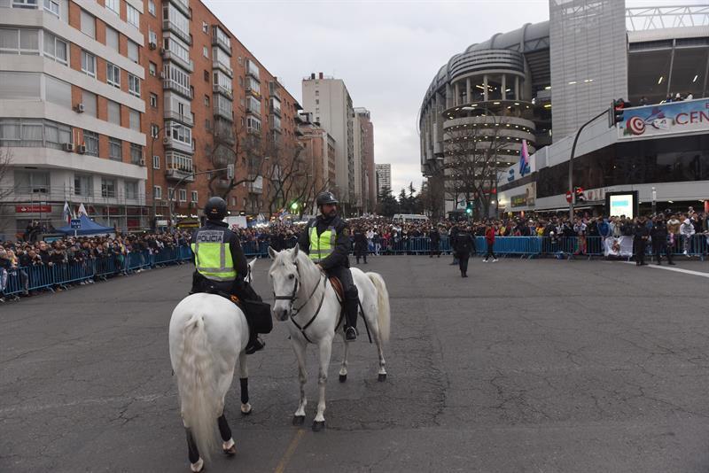 Dos detenidos por la venta de entradas falsas para el Real Madrid-PSG