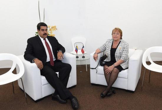 Piden a Bachelet retirar invitación a Maduro por cambio de mando en Chile