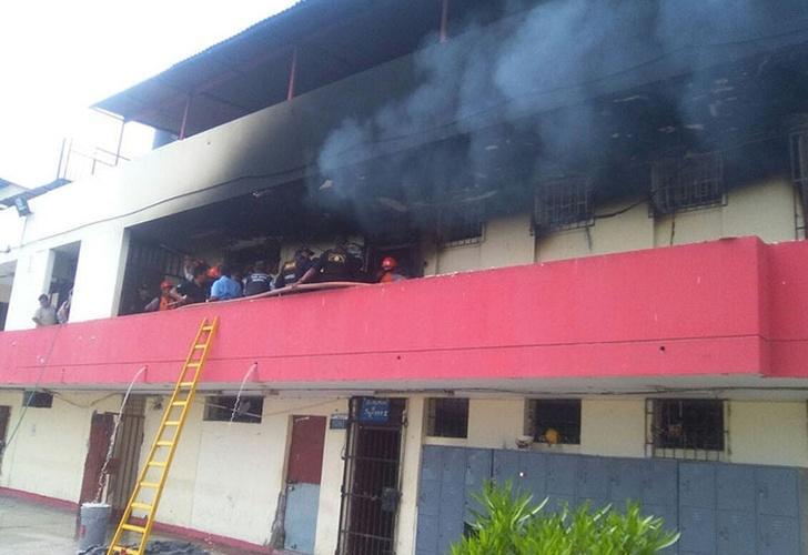 Cinco muertos y 29 heridos en incendio en centro de reclusión juvenil de Perú