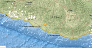 Un fuerte sismo sacude Ciudad de México