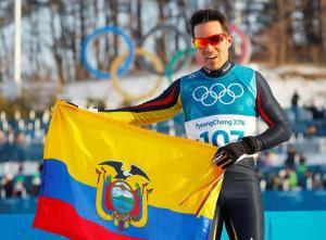 Ecuador ya es olímpico en invierno gracias a Klaus Jungbluth