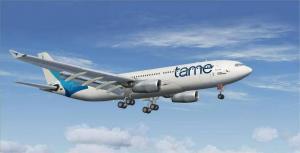 TAME estudia abrir rutas a Madrid y Buenos Aires