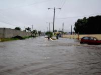 Chone, en aviso por previsión de lluvias