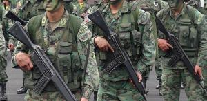 Una patrulla de las Fuerzas Armadas repele agresión en la frontera con Colombia