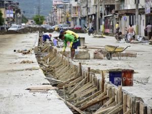 La avenida 15 de Abril será reabierta el próximo mes