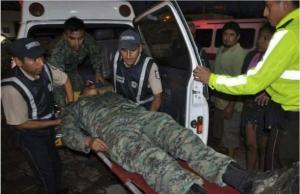 Dos militares ecuatorianos heridos tras ataque de disidentes de las FARC