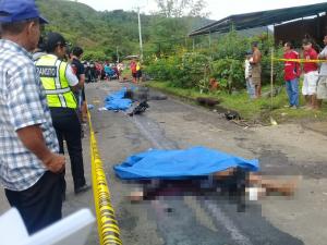 Tres muertos tras accidente de tránsito en la vía Santa Ana - Ayacucho