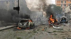 Sube a 45 el número de muertos por el atentado en palacio presidencial de Somalia