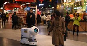 China usa robots para atender los restaurantes de varias autopistas