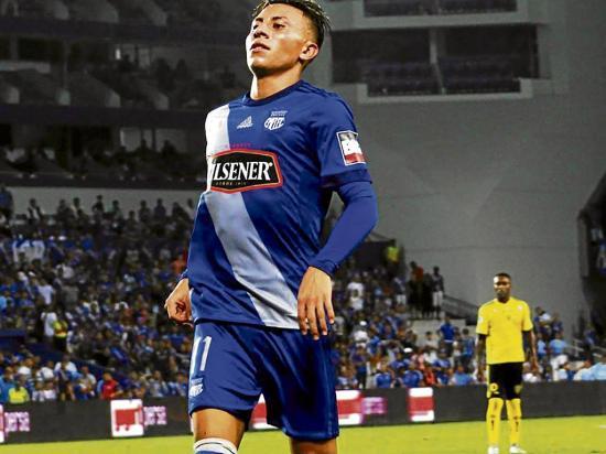 Joao Rojas jugó en la reserva de Emelec