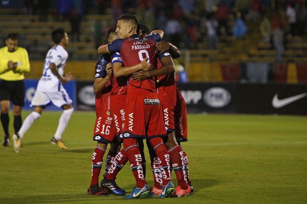 Copa Sudamericana: Parrales le da la clasificación a El Nacional a la segunda fase (1-1)