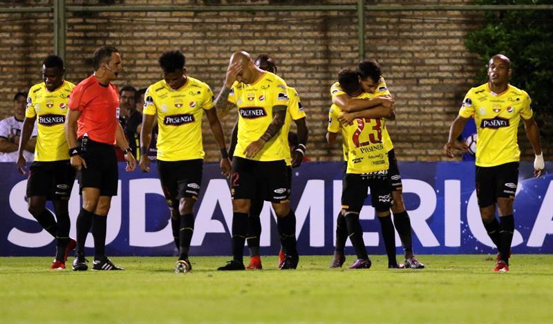 Barcelona SC queda eliminado de Copa Sudamericana tras perder ante General Díaz (2-1)