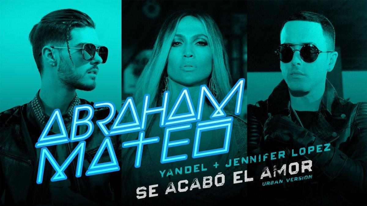 Abraham Mateo presenta ''Se acabó el amor'' junto Jennifer López y Yandel