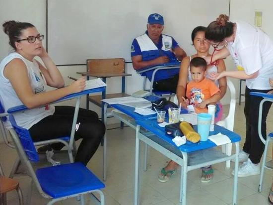 207 personas fueron atendidas en Portovelo por médicos españoles