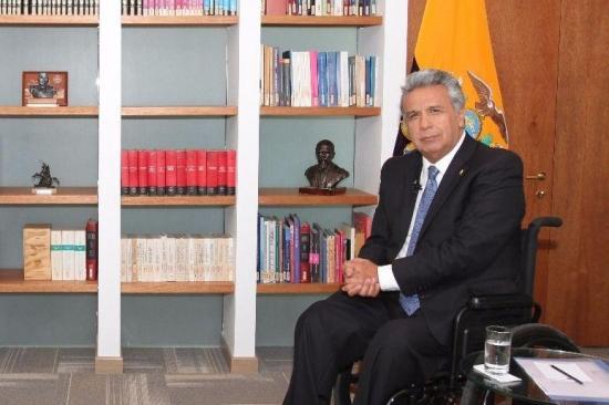 Postergado el retorno de presidente Moreno desde Chile por problemas con el avión