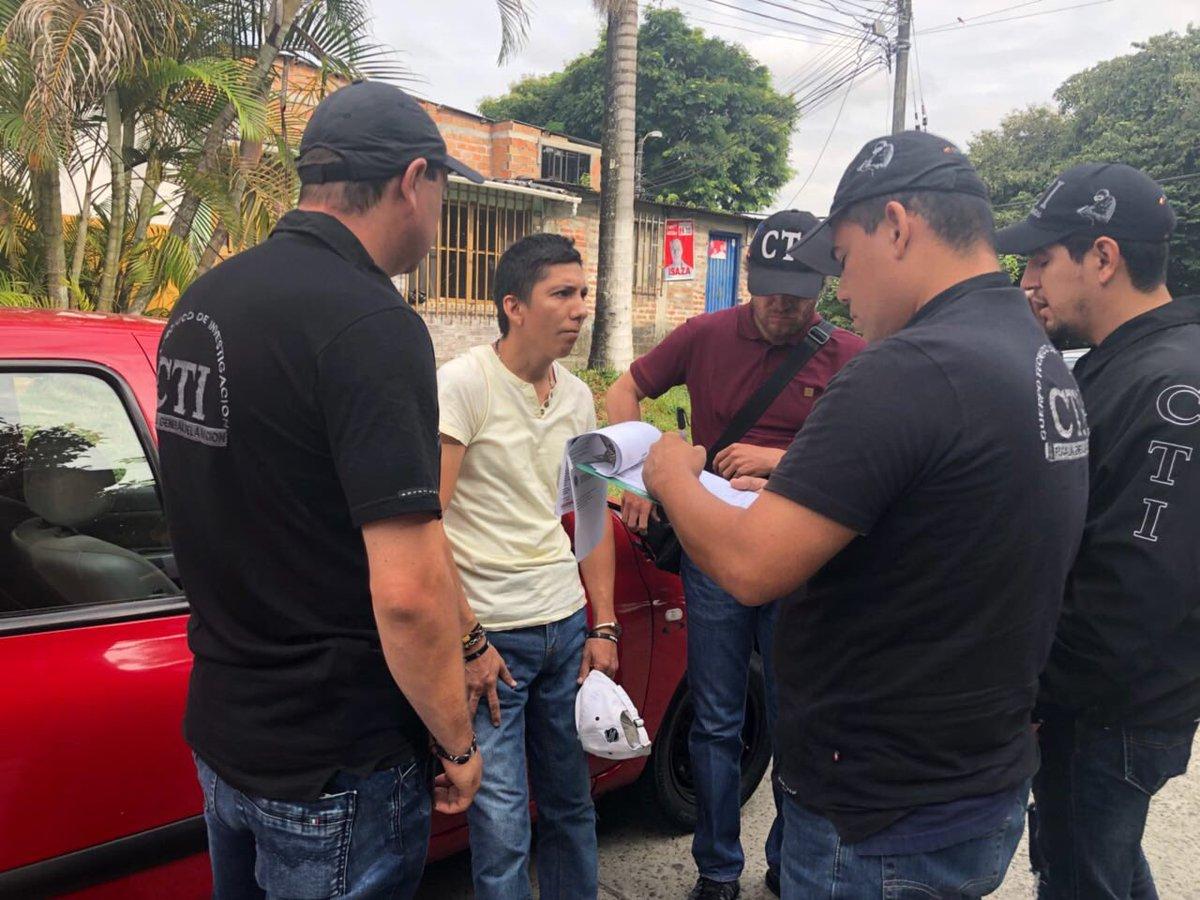 Detienen en Colombia a implicado en el asesinato de dirigente del Aucas