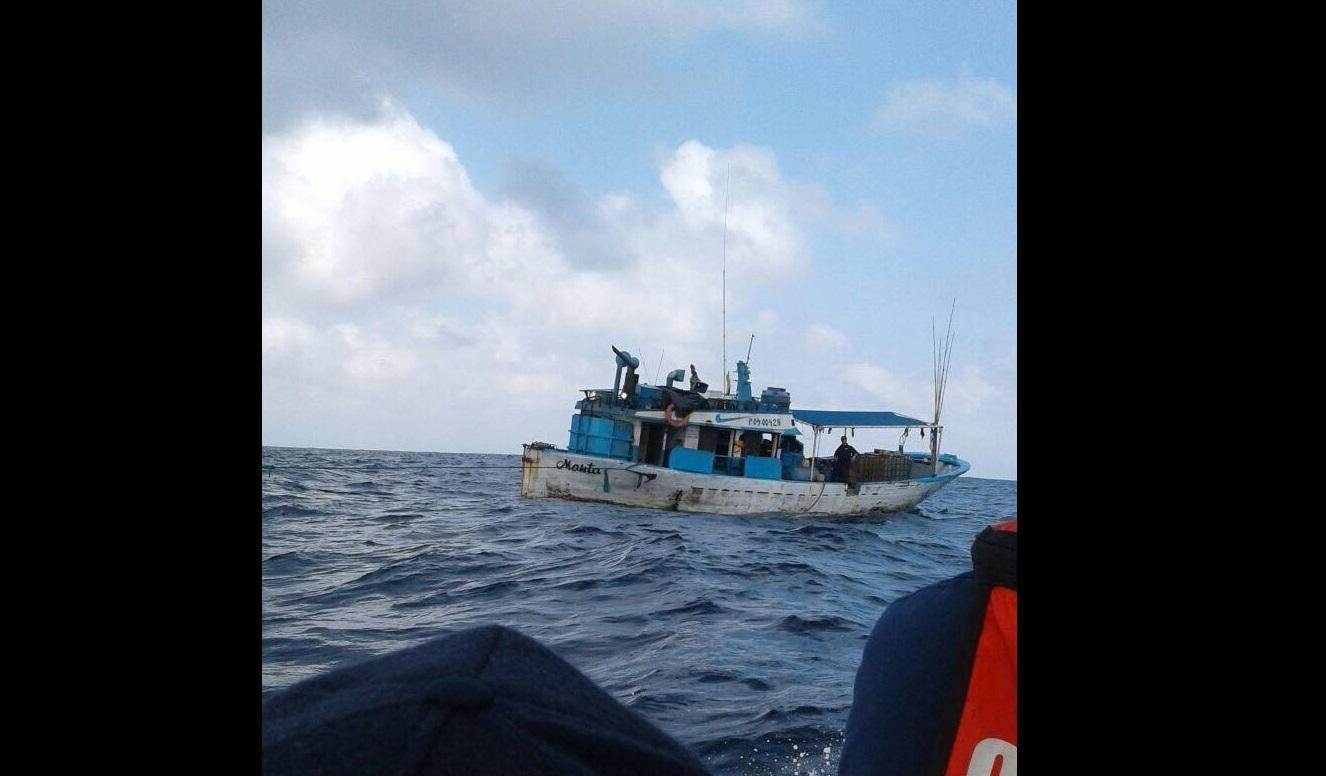 Embarcación originaria de Jaramijó es retenida por narcotráfico
