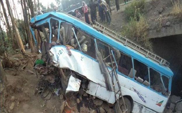 Cerca de 38 personas mueren en accidente de tránsito en Etiopía