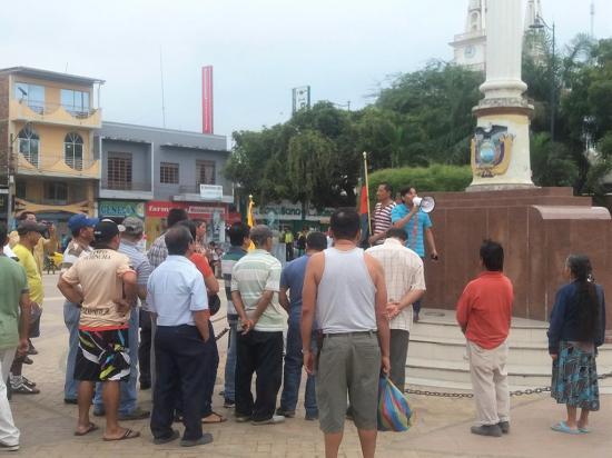 Jipijapa pide a las  autoridades fin a sus problemas