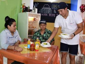 Le apuesta a Portoviejo porque conoce la fama de buenos cevicheros