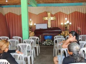 Venezolana asesinada por su pareja fue sepultada en San Jacinto