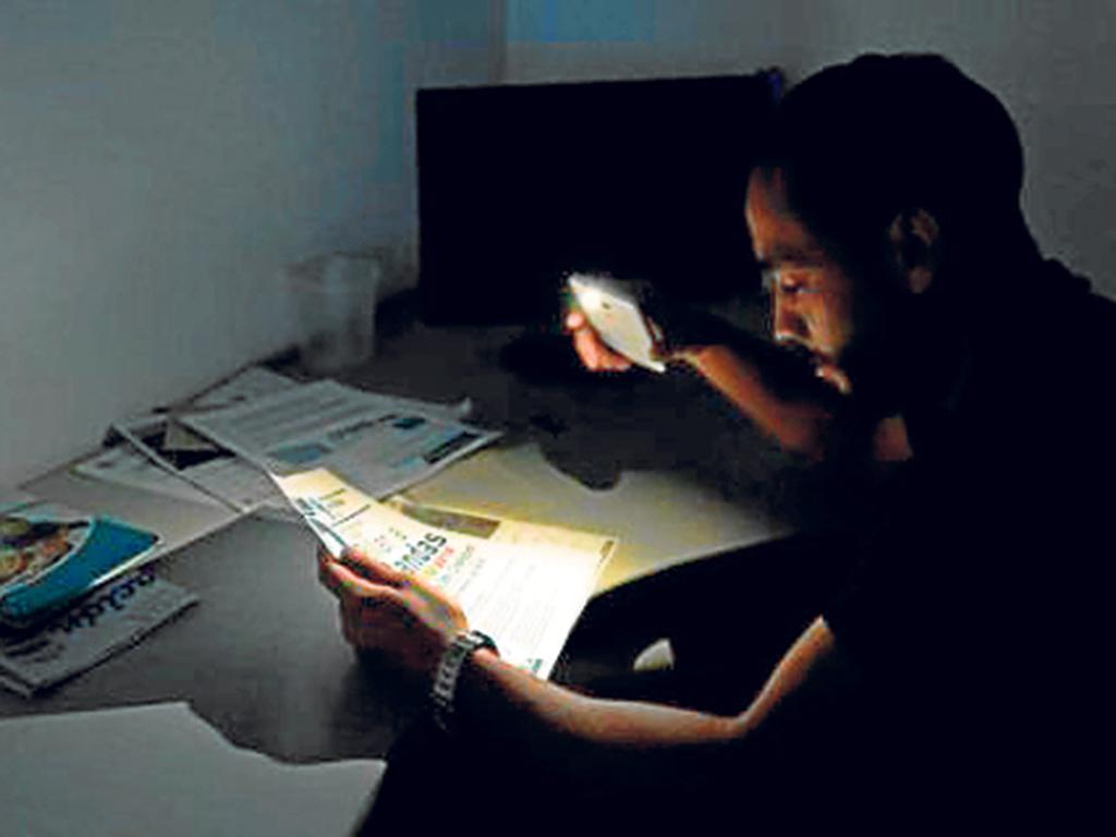 Aplican racionamiento de energ a el ctrica en cuatro for Racionamiento de luz en aragua