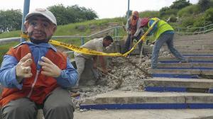 Municipio delata robo de materiales para obras