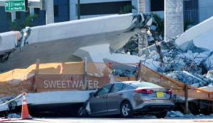 Rescatan cuerpo de última víctima de colapso de puente en Miami