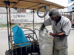 Campaña para  reciclar basura