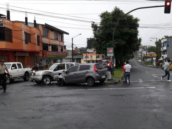 6 heridos en 3 accidentes