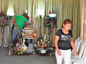 Venezolana se ahogó con su propio vómito