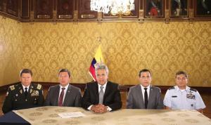 Moreno sobre atentado: 'Vamos a buscarlos, a capturarlos y se van a arrepentir de sus acciones criminales'