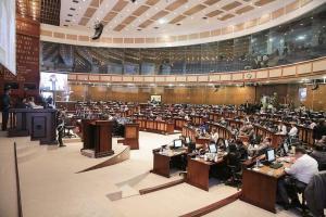 Suspenden sesión para la reestructuración de Asamblea Nacional