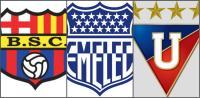 Barcelona SC, Emelec y Liga de Quito pelean primer puesto en tabla de posiciones